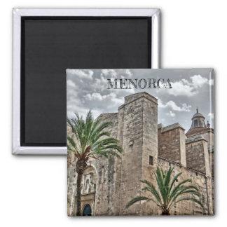 magnet Bau Altstadt in Mahón, Menorca,