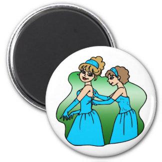 Magnet: Brautjungfer Kühlschrankmagnete