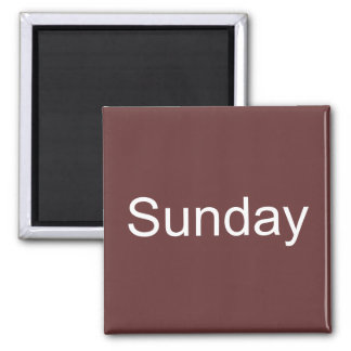 Magnet Browns Sonntag