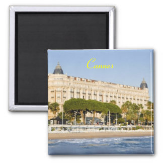 Magnet Cannes Frankreich Quadratischer Magnet