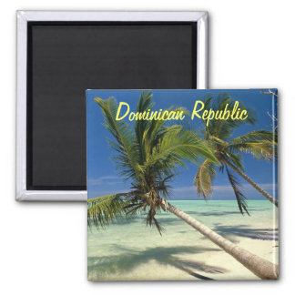 Magnet der Dominikanischen Republik Quadratischer Magnet