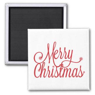 Magnet der frohen Weihnachten