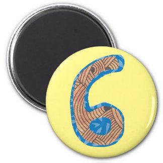 Magnet der Nr.-sechs Runder Magnet 5,7 Cm
