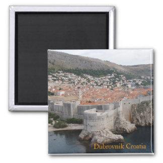 Magnet Dubrovniks Kroatien Quadratischer Magnet