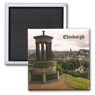 Magnet Edinburghs Schottland Quadratischer Magnet