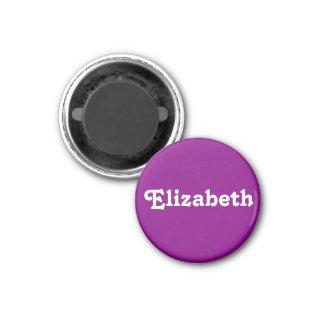 Magnet Elizabeth Runder Magnet 2,5 Cm
