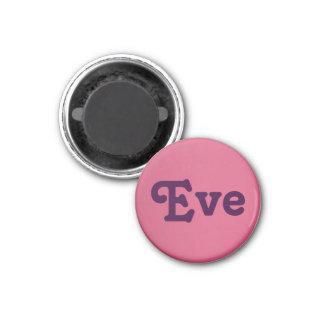 Magnet Eve Runder Magnet 3,2 Cm