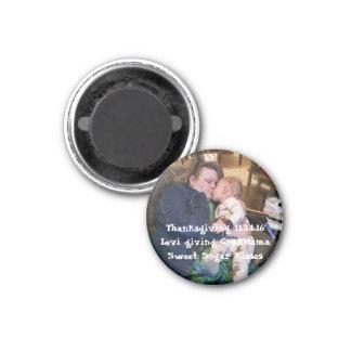 Magnet fertigen addieren Ihr spezielles Foto Runder Magnet 3,2 Cm