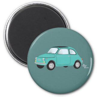 Magnet Fiats 500 Runder Magnet 5,1 Cm