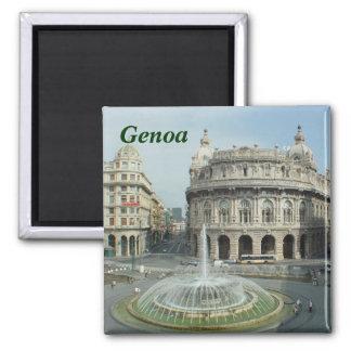Magnet Genuas Italien Quadratischer Magnet