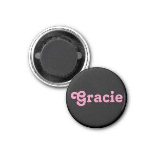 Magnet Gracie Runder Magnet 2,5 Cm