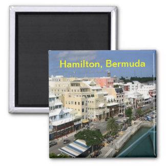 Magnet Hamiltons Bermuda Quadratischer Magnet