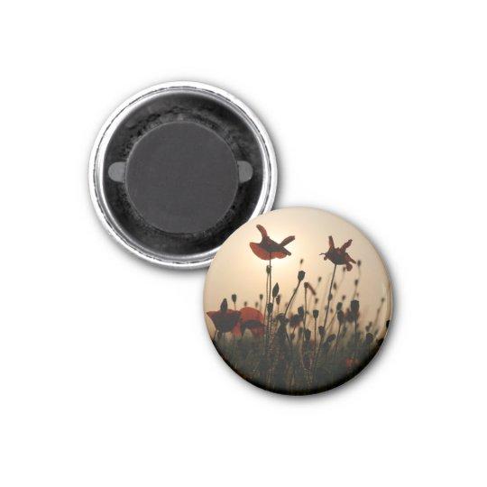 Magnet im Klatschmohndesign 08