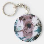 Magnet Irish Terrier Standard Runder Schlüsselanhänger