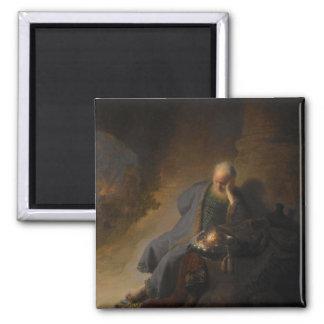 Magnet Jeremias Jerusalem Rembrandt