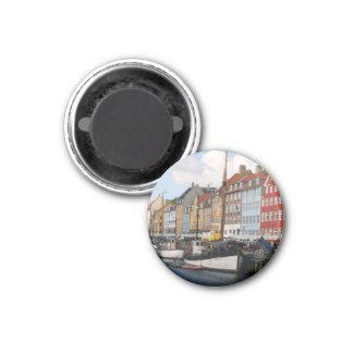 Magnet Kopenhagens Dänemark Runder Magnet 2,5 Cm