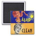 Magnet-Küchen-Helfer-sauberes schmutziges Spülmasc Magnets