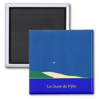 "Magnet ""La Dune du Pyla "" Kühlschrankmagnete"