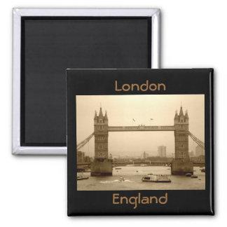 Magnet Londons England Quadratischer Magnet