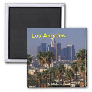 Magnet Los Angeless Kalifornien Quadratischer Magnet