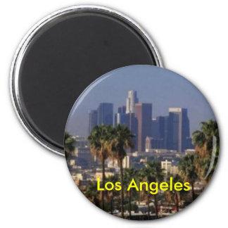 Magnet Los Angeless Kalifornien Runder Magnet 5,7 Cm
