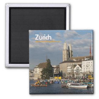 Magnet/Magnet Zürich Kühlschrankmagnet
