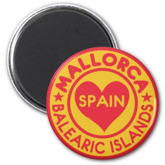 Magnet MALLORCA Spanien Runder Magnet 5,7 Cm