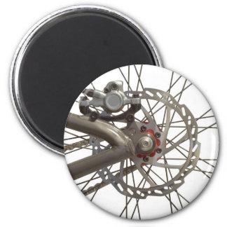 Magnet mit Fahrrad-Rückseiten-Rad Runder Magnet 5,7 Cm