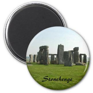 Magnet mit Stonehenge Foto Runder Magnet 5,1 Cm