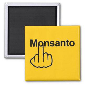 Magnet Monsanto drehen um Quadratischer Magnet