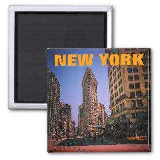 Magnet New York (Flatiron) Quadratischer Magnet