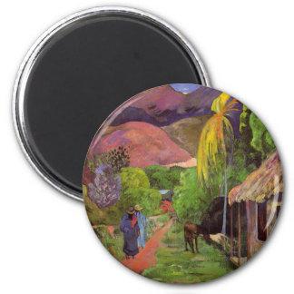 """Magnet """"Ruedes Tahiti"""" - Paul Gauguin"""