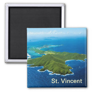 Magnet St. Vincent Quadratischer Magnet