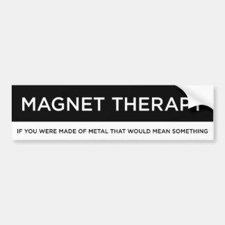 Magnet-Therapie Autoaufkleber