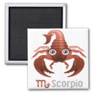 Magnet-Tierkreis 11 Skorpion Quadratischer Magnet