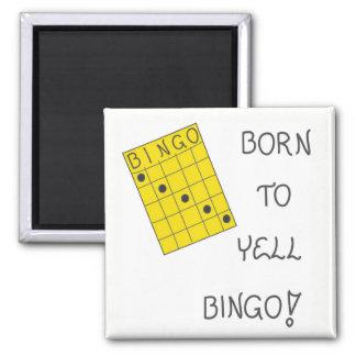 Magnet über Bingo