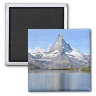 Magnet von Matterhorn-Berg Quadratischer Magnet