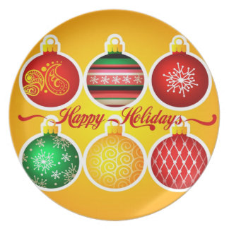 Magnet-Weihnachten Teller