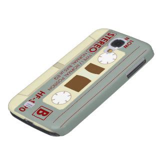 Magnetband für Tonaufzeichnungenkassette Galaxy S4 Hülle