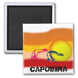 Magneten capoeira Kampfkunst-Axt ginga Quadratischer Magnet