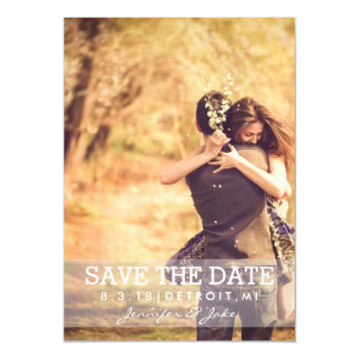 Magnetic Invite - Save the Date II