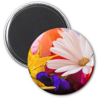 Magnetische Blume Runder Magnet 5,1 Cm