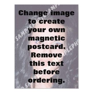 Magnetische Postkarte des personalisierten Fotos