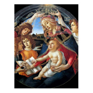 Magnificat Madonna Postkarte