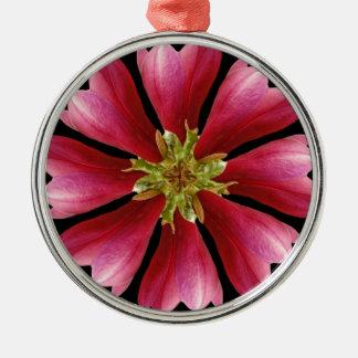 magnolia blossom silbernes ornament