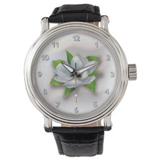 Magnolie Uhr