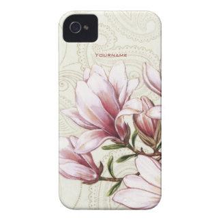 Magnolie und Paisley iPhone 4 Etuis