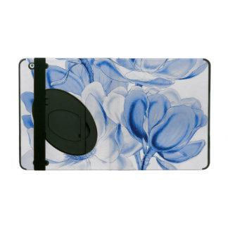 Magnolien-Blau iPad Hülle