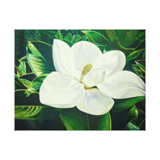 Magnolien-Blume Leinwanddruck