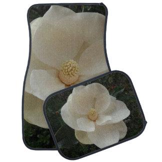 Magnolien-Blumen-Auto-Boden-Matten (volles Set) Automatte
